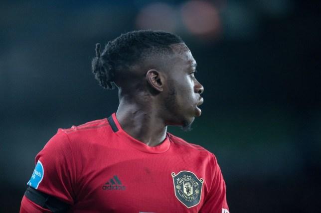Manchester United defender Aaron Wan-Bissaka