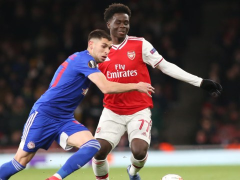 Olympiakos targeted Bukayo Saka to knock Arsenal out of Europa League