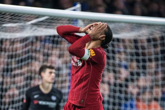 Liverpool captain Virgil van Dijk