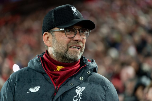 Jurgen Klopp is snapped on the touchline during a Liverpool game