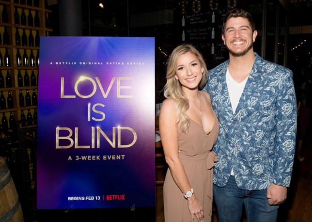 Love Is Blind Amber Pike and Matt Barnett