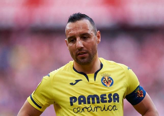 Santiago Cazorla of Villarreal CF