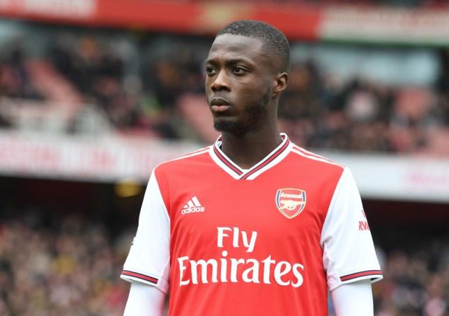 Nicolas Pepe of Arsenal