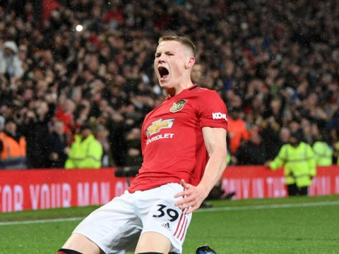 Manchester United backroom staff predicted Scott McTominay's goal against Manchester City
