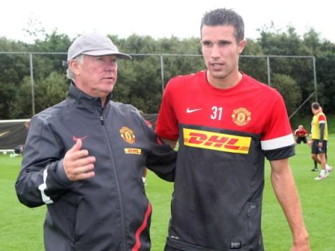 Robin van Persie reveals Sir Alex Ferguson called Manchester United duo 'a***holes' after Manchester City defeat