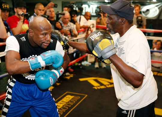 Floyd is said to be 'devastated' at his uncle's death (Picture: Getty)