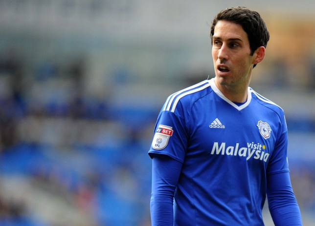 Peter Whittingham during Cardiff's Championship clash with Norwich