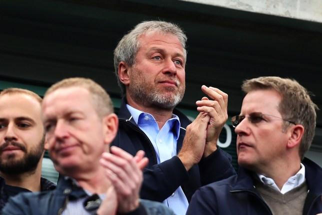 Roman Abramovich during Chelsea's Premier League clash with Sunderland