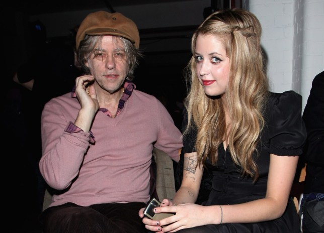 Bob Geldof and Peaches Geldof