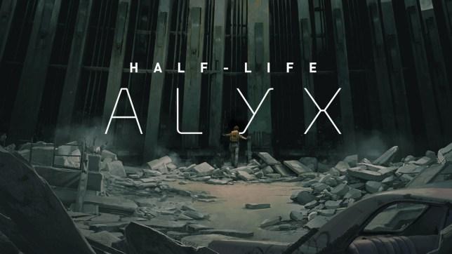 Half-Life: Alyx key art