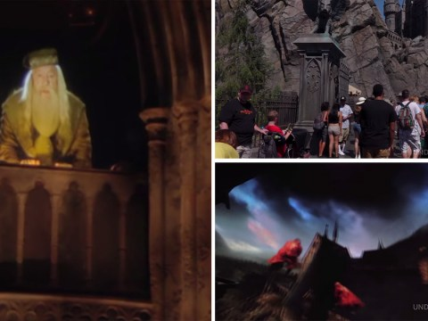 You can go on the Universal Studios Harry Potter ride from the comfort of your own home