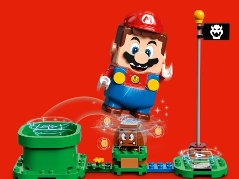 Lego Nintendo toys use a Bluetooth Mario that's been four years in the making