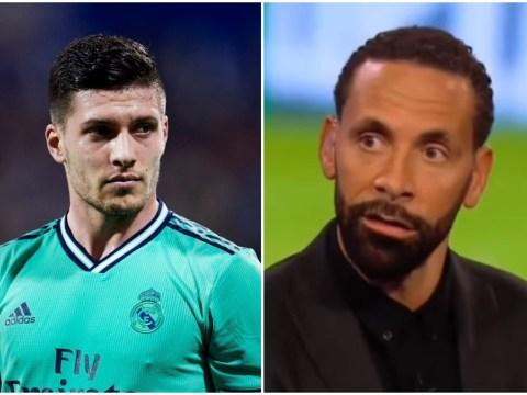 Rio Ferdinand urges Arsenal to avoid signing Luka Jovic