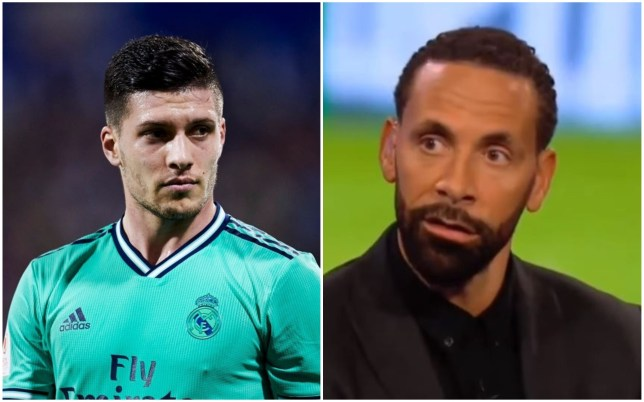 Rio Ferdinand has spoken out on Arsenal's link with Luka Jovic