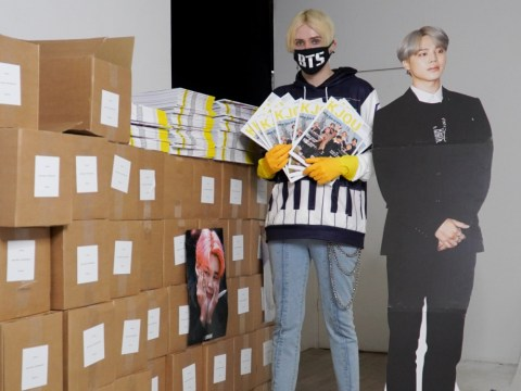 BTS Jimin super fan buys 5000 copies of K-pop magazine to help him get through self-quarantine during outbreak