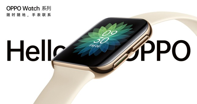 This reminds of us of another popular smartwatch (Oppo)