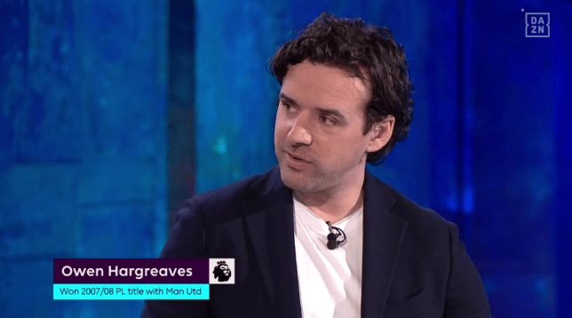 Owen Hargreaves says Manchester United are three signings away from a title challenge