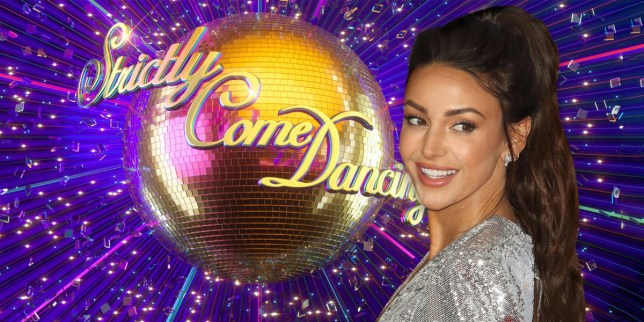 Caption: Michelle Keegan tipped for strictly after quitting Our Girl Credit: PA
