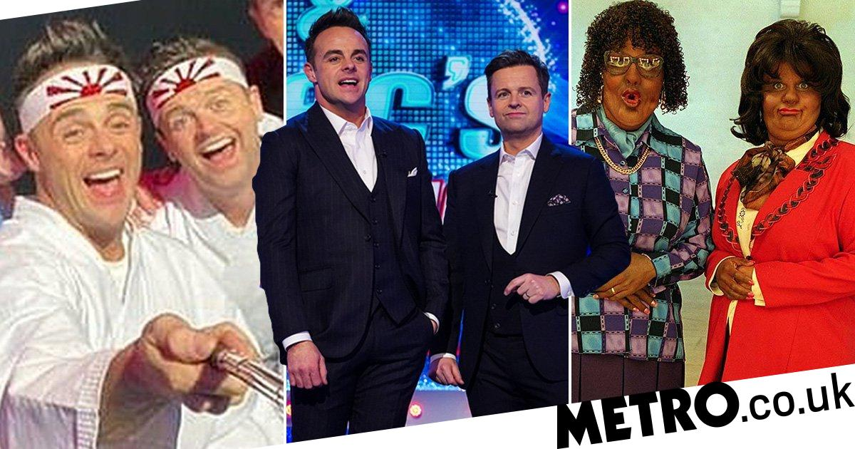 Ant and Dec's many controversies from blackface to the Rising Sun flag