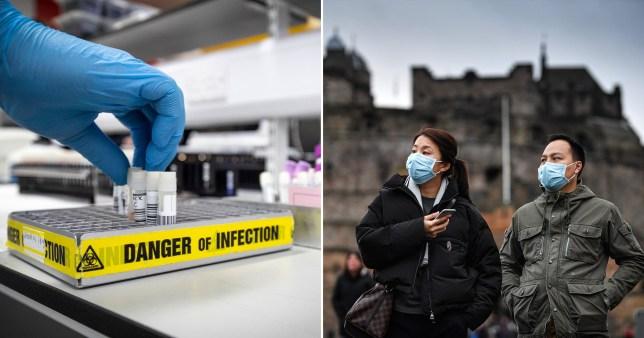 Il governo scozzese ha affermato di essere ben preparato a far fronte a una potenziale epidemia.