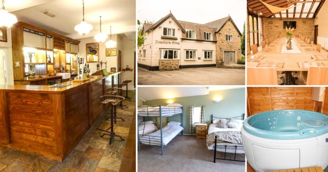 Incredible pub transformed into holiday home