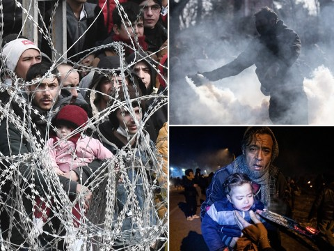Thousands of migrants head to Europe as Turkey opens borders to Syrian refugees