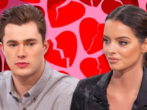 Love Island's Maura Higgins confirms split from Curtis Pritchard and tells fans romance 'wasn't meant to be'