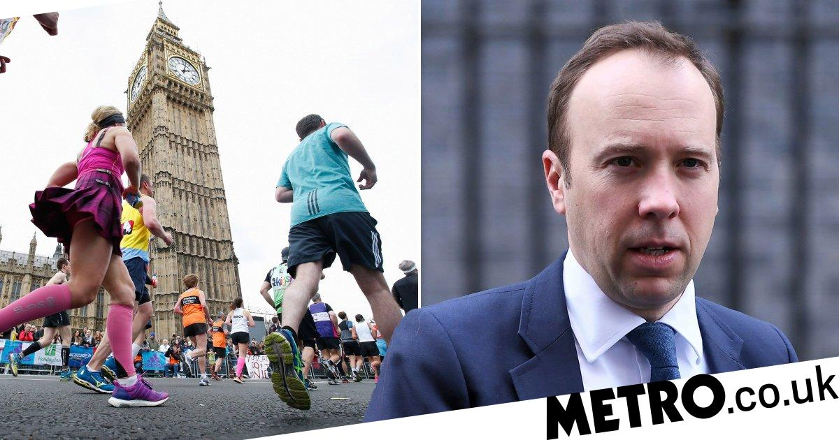 London Marathon could be cancelled because of Coronavirus, Matt Hancock warns thumbnail