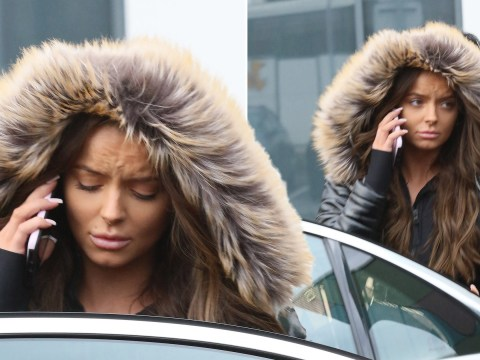 Maura Higgins looks upset on stressful phone call after Curtis Pritchard split