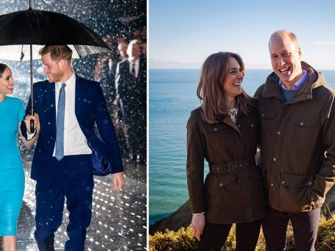 Kate and William respond to Meghan and Harry's viral photo with their own happy snap