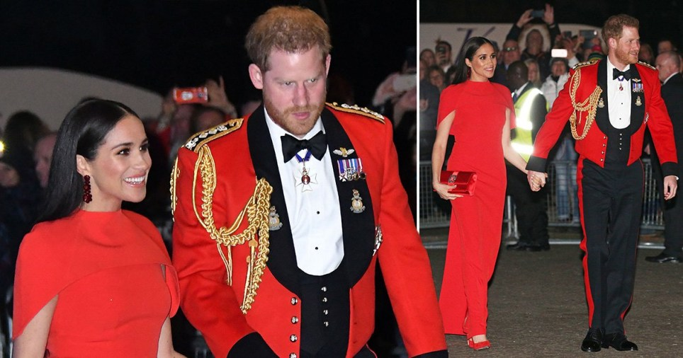 composite of Prince Harry and Meghan Markle