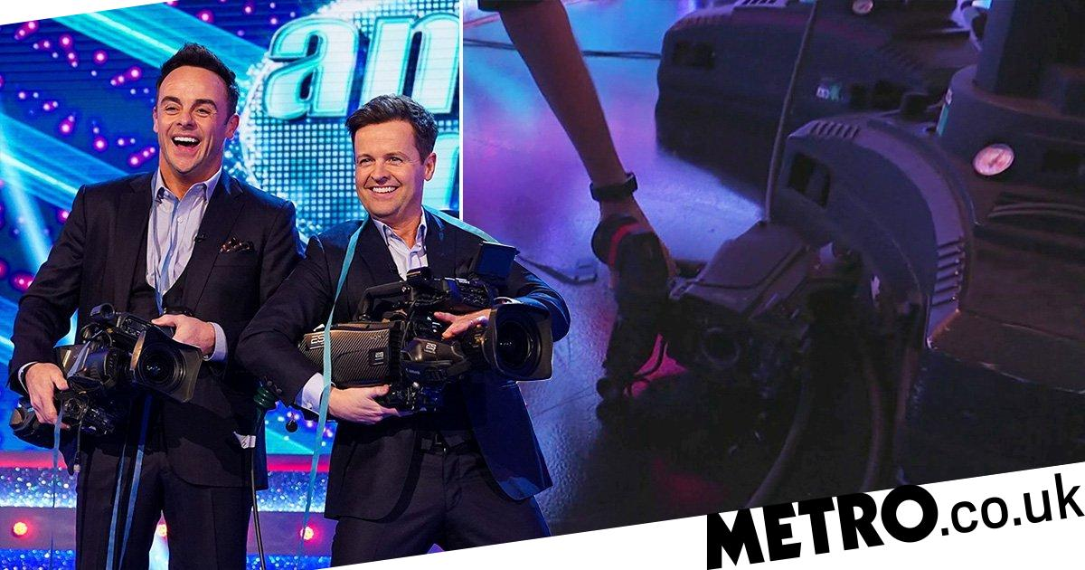 Saturday Night Takeaway fans shocked as Ant McPartlin smashes flashy camera