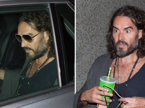 Russell Brand goes low-key in Melbourne after admitting 'heartbreak' amid Katy Perry's pregnancy