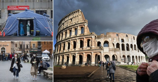 Caption: Another 133 people die in Italy as coronavirus death toll jumps again