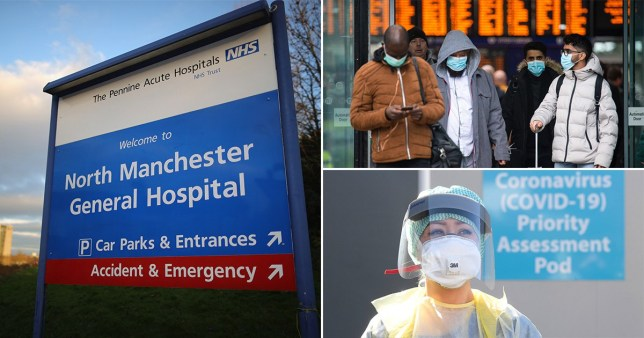 The man had been a patient at North Manchester General Hospital (Picture: Getty Images)
