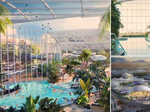 Indoor water park the size of 19 football pitches is coming to the UK