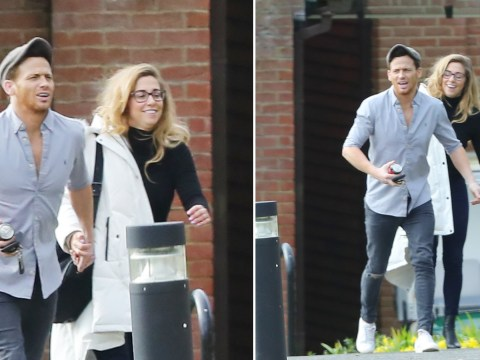 Dancing on Ice winners Joe Swash and Alex Murphy step out after late wrap party