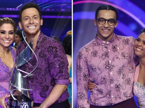Dancing On Ice finale closest ever as Joe Swash beat Perri Kiely by just 1% of vote
