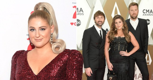 Meghan Trainor and Lady Antebellum