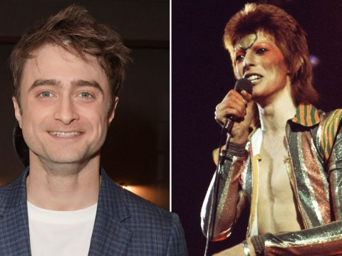 Daniel Radcliffe says he'd love to play David Bowie in a movie, but doesn't think he'd be very good at it