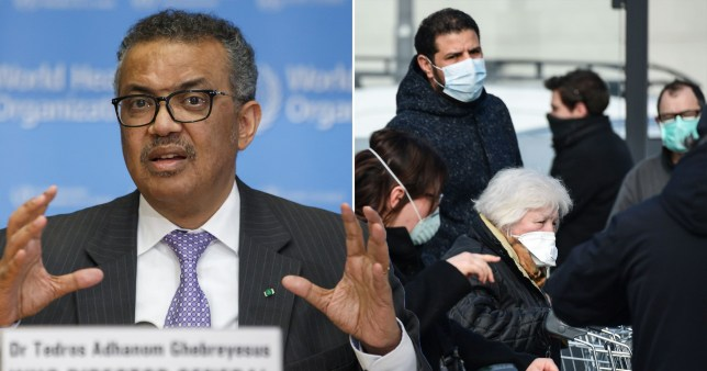Covid-19 has officially been declared a pandemic (Picture: Getty Images)