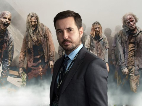 Martin Compston strikes fear into the hearts of Line of Duty fans with The Walking Dead coronavirus tweet