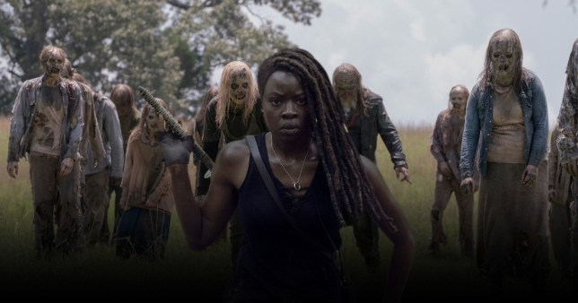 Walking Dead\'s Danai Gurira was pranked with 50 zombies on her final days on set