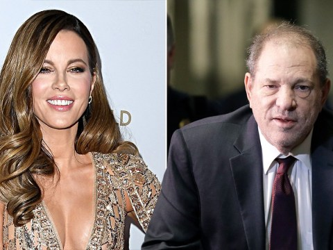 Kate Beckinsale hits back at backlash from fans after speaking out about Harvey Weinstein