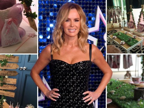 Amanda Holden plans ultimate first sleepover for daughter Hollie