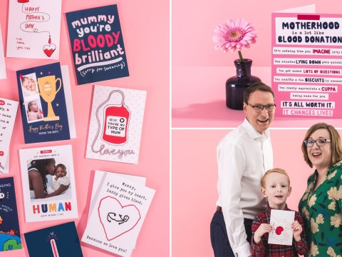 Moonpig wants you to give blood to honour your mum this Mother's Day