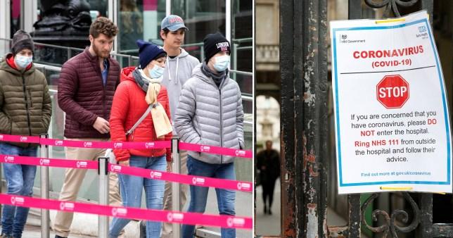 I casi di coronavirus nel Regno Unito aumentano