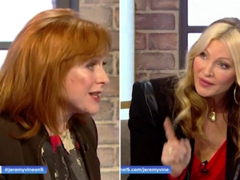Caprice Bourret rows with an actual medical expert over coronavirus: 'This is from a newspaper!'