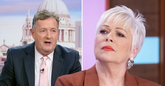 Piers Morgan on Good Morning Britain/Denise Welch on Loose Women