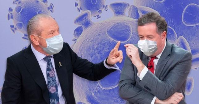 Piers Morgan and Lord Sugar